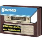 Conrad Components URH retro rádió építõkészlet URH Conrad