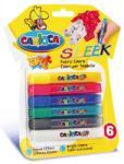 Carioca 3D Neon textil festék szett 6db-os