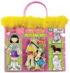 T.S. Shure Mágneses fa öltöztető szett, Daisy girls, állatorvos T. S. Shure (TSSHURE9818)