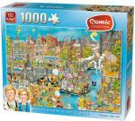 King Amszterdam 1000db-os Comic puzzle (05132)