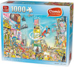 King Times Square 1000db-os Comic puzzle (05089)