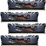 G.SKILL FlareX 64GB (4x16GB) DDR4 2400MHz F4-2400C16Q-64GFX