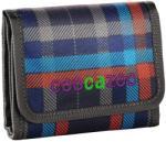 Hama pénztárca, Coocazoo /Peacoat/ piros-kék kockás