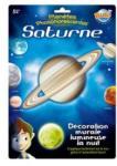 Buki France Buki Decoratiuni de perete fosforescente Planeta Saturn (BK3DF4)
