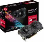 ASUS Radeon RX 570 OC 4GB GDDR5 256bit PCIe (ROG-STRIX-RX570-O4G-GAMING) Videokártya