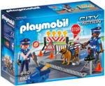 Playmobil Rendőrségi útlezárás (6924)