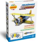Kensho Felhúzható 3D puzzle - Kétfedeles vadászgép (HWMP-16)