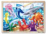 Melissa & Doug Tengeri világ fa puzzle