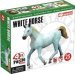 4D Master 4D Puzzle - Fehér ló (26529)