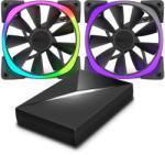 NZXT Aer RGB 140x140x26mm & HUE+ (RF-AR140-C1)