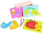 Bigjigs Toys Összefűzős állatok (BJ505)