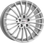 Mak Fatale Silver CB76 5/112 17x7.5 ET43