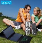 Vinsic S3 VSSP103B 22W Napelemes Töltő Dupla USB Port Túrázáshoz 4 Napelem (VSSP103B)