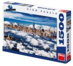 WEB Dino 1500db-os New York felhői puzzle (84798)