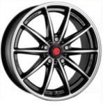 Raiden SC5 Black Mirror CB63.4 4/108 17x7 ET40