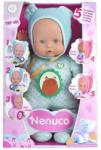 Famosa Nenuco: My Little puhatestű baba kék ruhában 5 funkcióval 30cm-es