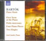 NAXOS Bartók Béla: Piano Music Vol. 6. - First Term at the Piano, Petits morceaux, Four Piano Pieces, Two Elegie