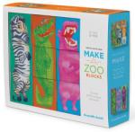 Crocodile Creek Puzzle din Cuburi, Construieşte Gradina Ta Zoologică Puzzle