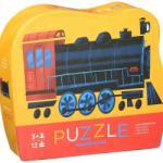 Crocodile Creek Locomotivă cu Abur Mini Puzzle Puzzle