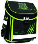 Karton P+P Design Panteră: ghiozdan anatomic premium - verde-negru (KPP-3-117)