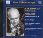 NAXOS Ludwig van Beethoven/Wolfgang Amadeus Mozart: Violin Concerto