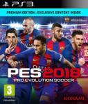 Konami PES 2018 Pro Evolution Soccer [Premium Edition] (PS3) Játékprogram