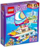 LEGO Friends - Napsütötte katamarán (41317)