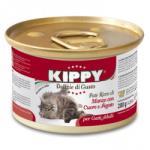 V. b. b. s. r. l Италия Консерва котка KIPPY говеждо, сърца и дроб 200 гр пастет (valen 50345 Консерва котка KIPPY говеждо сърца дроб 200гр)