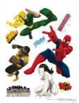 AG Design Stickere perete Spiderman si prietenii Decoratiune camera copii