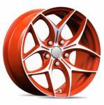 GT-R Wheels TOP ORANGE CB73.1 5/114.3 17x7.5 ET38