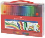 Faber-Castell Carioci cu clip 60 culori Connector FABER-CASTELL, FC155560