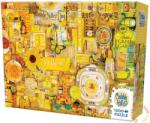 Cobble Hill 1000 db-os puzzle - The Rainbow Project - Yellow (51863)