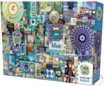 Cobble Hill 1000 db-os puzzle - The Rainbow Project - Blue (51865)