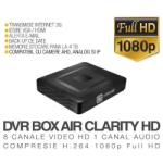 ICANSEE Video Recorder ICanSee AHD model ICS-BLACK BOX AIR CLARITY HD V1 8 Canale Video 1 Canal Audio Rezolutie Full HD Vizualizare pe Internet (ICSE-ICS-BLACKBOXAIRCLARITYHDV18)