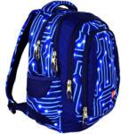 ST.RIGHT Electro - 4 rekeszes iskola hátizsák (612503)