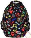 ST.RIGHT Badges - 4 rekeszes iskola hátizsák (612909)