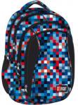 ST.RIGHT Pixelmania Blue - 4 rekeszes iskola hátizsák (612015)