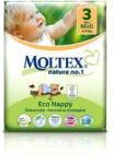 MOLTEX természet nem. 1 Midi 4-9 kg (34 db)