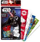 Starpak Star Wars kreatív szett, sablonok és matricák (347080)