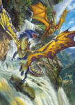 Cobble Hill 51808 - Waterfall Dragons - 1000 db-os puzzle