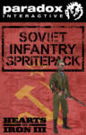 Paradox Interactive Hearts of Iron III Soviet Infantry Sprite Pack (PC) Játékprogram