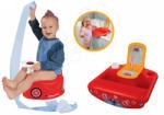 BIG Maşină oliţă pentru copii BIG cu volan şi claxon+baie pentru copii cu oglindă şi cu periuţă de dinţi BIG56801-1 (BIG56801-1) Olita