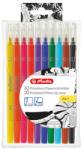 Herlitz Liner cu 2 capete, 10 culori/set, HERLITZ My. Pen 2 in 1
