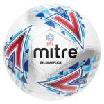 Mitre Футболна топка Mitre EFL Delta Replica Football - White