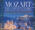 HUNGAROTON Wolfgang Amadeus Mozart: Complete works for Violin and Orchestra - 2 CD