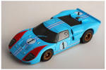 AFX Ford GT40 # 1 Miles