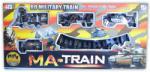 ROBENTOYS Set Tren militar cu baterii (19022B) Trenulet