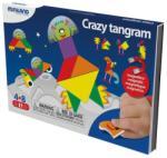 Miniland Joc magnetic Tangram fantezie (ML31965) Joc de societate
