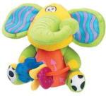 Playgro Csörgő elefánt rágókával