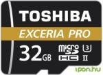 Toshiba MicroSDHC Exceria Pro M501 32GB THN-M501G0320E7